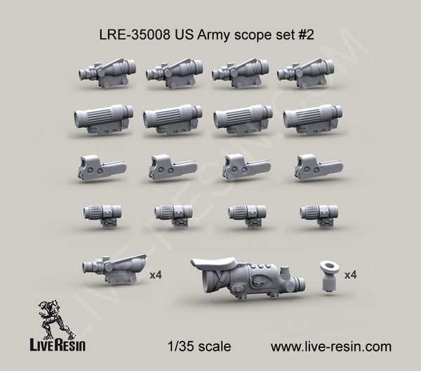 US Army Scope Set 2
