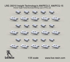 US Army Insight Technologies AN/PEQ-2,AN/PEQ15 set