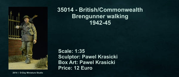 British/Commonwealth Brengunner walking