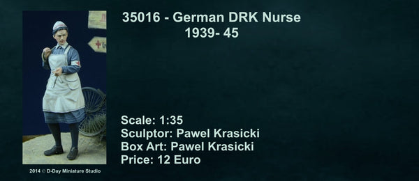 German DRK Nurse