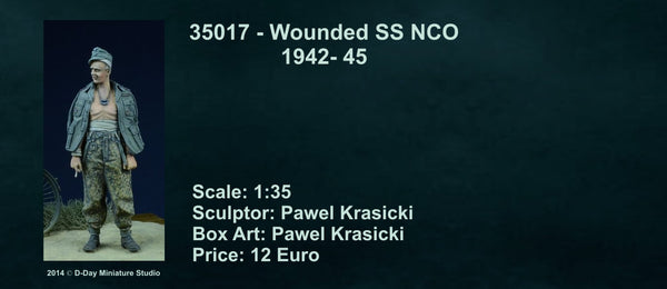 WSS Wounded officer 1942-45