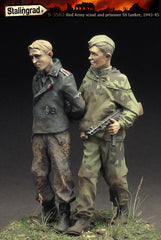 Red Army scout and prisoner SS-tanker, 1943-45