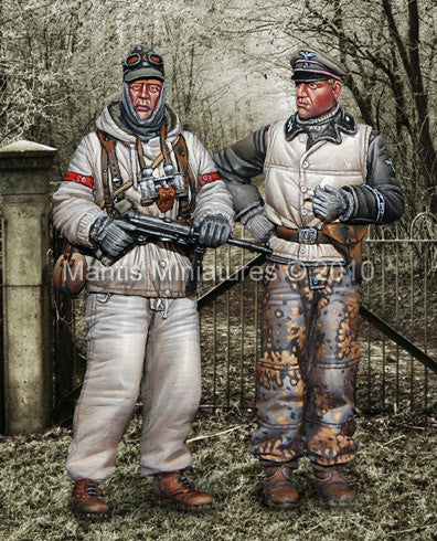 SS Grenadier & Tank Commander-Winter 1944