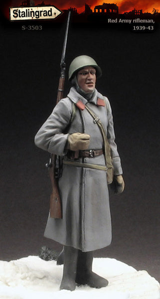 Red Army Rifleman, 1939-43
