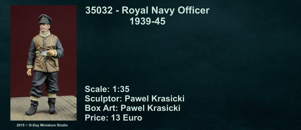 Royal Navy Officer 1939-45