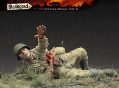 Wounded Red Army Rifleman 1941-42