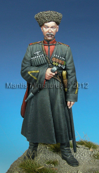 German Cossack Officer, WW2