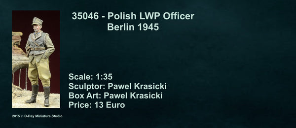 Polish LWP Officer 1945