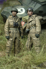 ALP35050 WW2 British Tank Crew Set