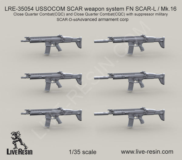 SCAR weapon system FN SCAR-L / Mk.16 Close Quarter Combat(CQC)