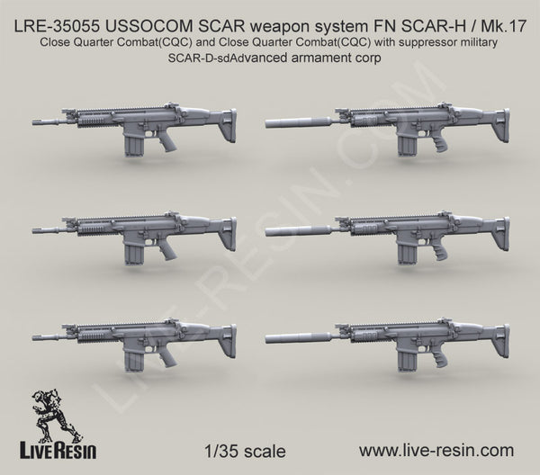 SCAR weapon system FN SCAR-H / Mk.17 Close Quarter Combat(CQC)