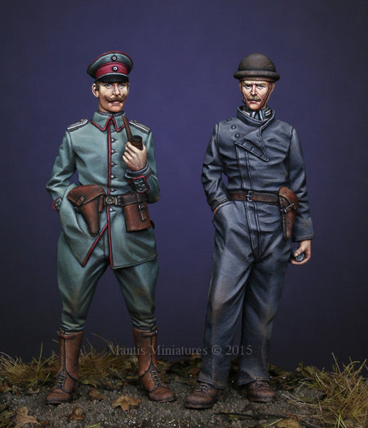 WWI German Officer and Tanker