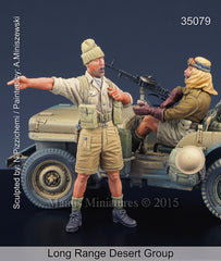 Long Range Desert Group Dedicated to Tamiya kit 35219