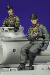 ALP35089 German Panzer Crew Set (2fig)