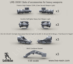 Heavy weapons gear