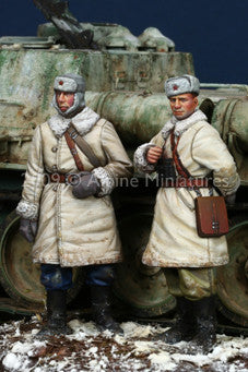 ALP35092 WW2 Russian AFV Crew set (2fig)