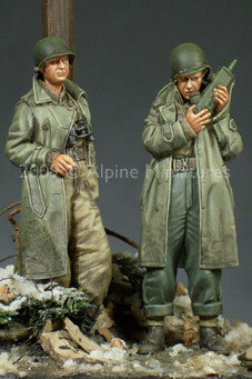 ALP35095 US Army Officer set (2fig)