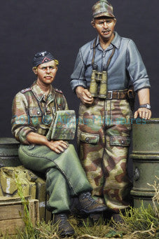 ALP35101 German Panzer Crew in Summer set (2fig)