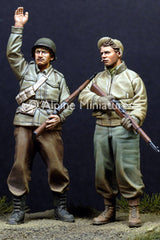 ALP35110 WW2 US Infantry set (2fig)