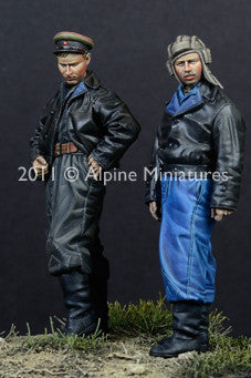 ALP35119 Russian AFV Crew 44/45 set (2fig)