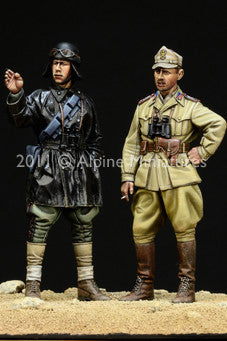 ALP35124 WW2 Italian AFV Crew set (2fig)