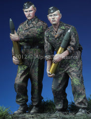 ALP35135 SS Panzer Crew Kursk set (2 fig)
