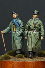 ALP35138 Panzer Officer 1 Pz. Div. Set (2 fig)