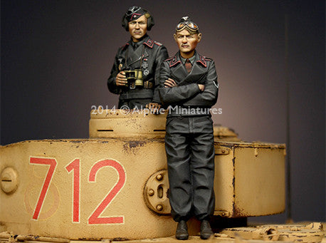 ALP35177 Panzer Commander Set