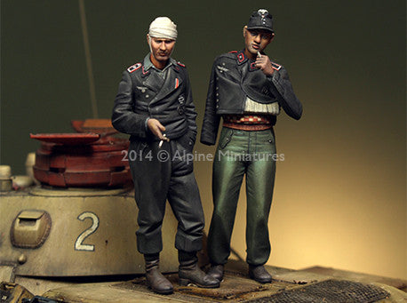 ALP35183 German Panzer Crew Set