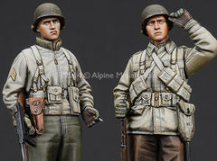Alp35186 WW2 US Infantry Set #2