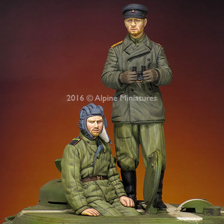 ALP3216 Russian Tank Crew Set