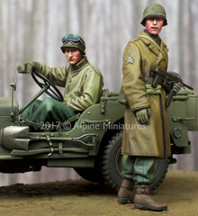 35243 WW2 US NCO & Driver Set
