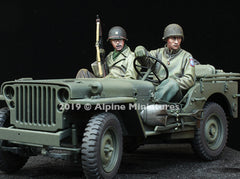 ALP35262 WW2 Jeep Crew Set