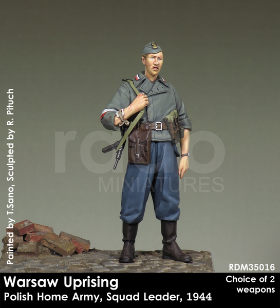 Warsaw Uprising, Polish Home Army, Squad Leader, 1944
