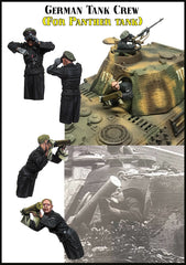 EM35175 German Tank Crew (For Panther Tank)