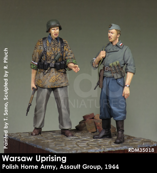 Warsaw Uprising, Polish Home Army, Assault Group, 1944