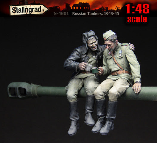 1:48 scale Russian Tankers, 1943-45