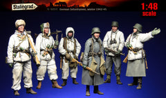 1:48 scale German Infantrymen, winter