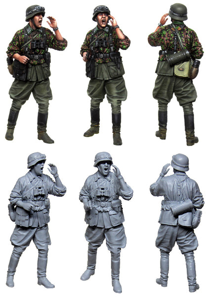 EM35174 German SS Officer WW2