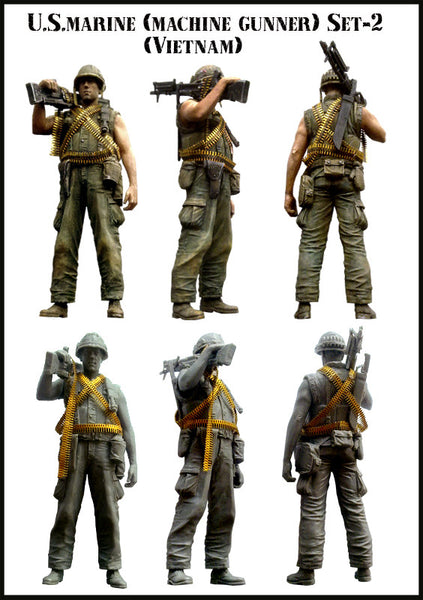 US Marine Machine Gunner Set 2 (Vietnam)