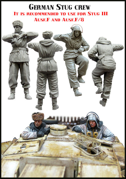 German STUG Crew WW2