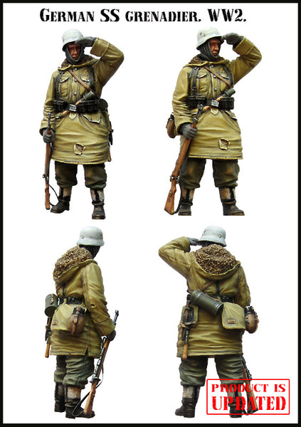 German SS Grenadier WW2