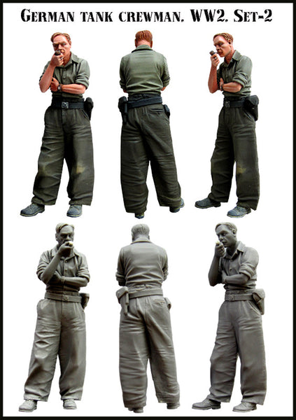 German Tank Crewman Set 2