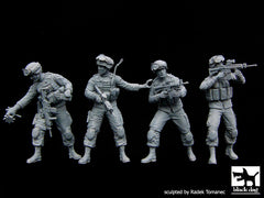 BD35081 US Soldiers Special group team big set /recon scout XT Robot/