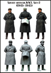Soviet Officer WW2 Set 2