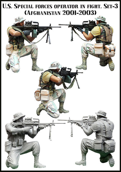 US Special Forces Operator In fight, Set 3