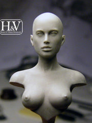 Anatomical Female bust