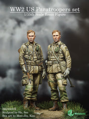 MJ35003 WW2 US Paratroopers Set