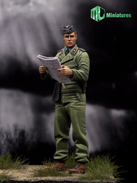 WW2 German Panzer Officer