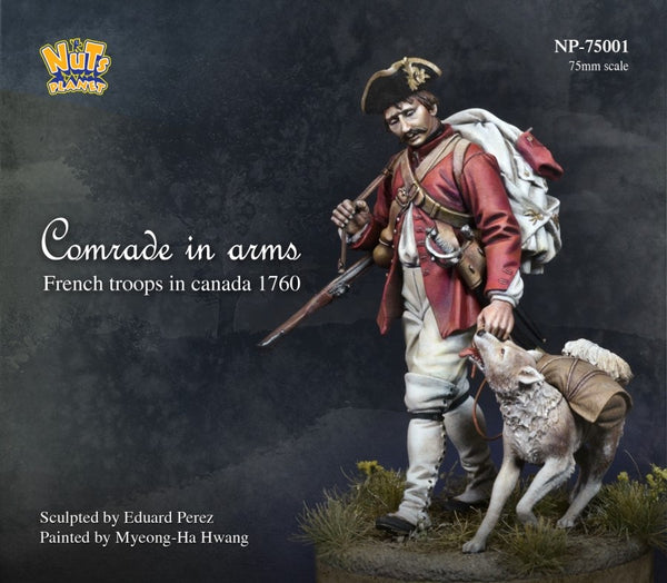 NP75001 Comrades In Arms French Troops in Canada 1760